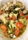 鶏胸肉と色々野菜の中華風お酢炒め