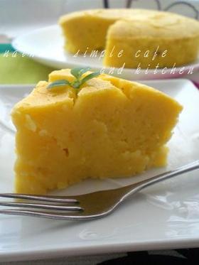 ノンバター・ベイクド薩摩芋(南瓜)ケーキ