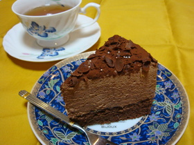濃厚☆ムース・ショコラケーキ