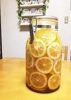 メイヤーレモンと蜂蜜のシロップ