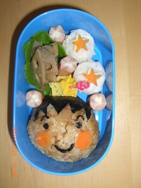 ボクのお弁当☆男の子キャラ弁