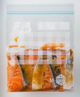 作り置き 生鮭の味噌マリネ