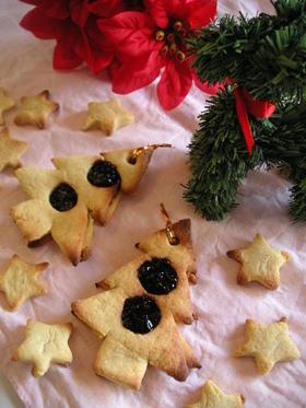 ジャムでX'masツリークッキー
