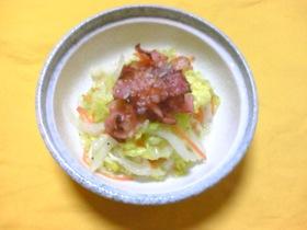 白菜のしゃきしゃきサラダ