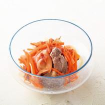 ラム肉の梅風味マリネ