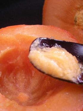 簡単!柿を凍らすだけ♪保存も*