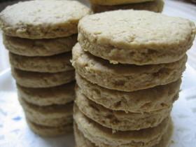 オートミールとアーモンド粉のクッキー
