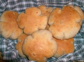 丸めて焼くだけくるみチーズパン(HB)
