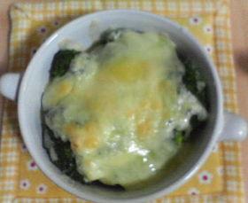 ブロッコリーのマヨチーズでチン♪