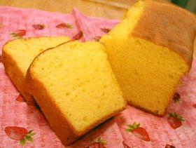 ふわふわ『昭和天ぷら粉☆黄金』ケーキ