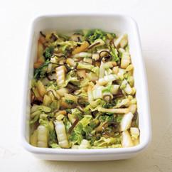 白菜と塩昆布のマリネ