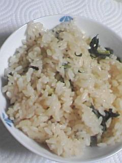簡単◆大根の菜めし炊き込みごはん