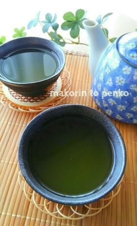お茶屋さん直伝*美味しい氷出し緑茶