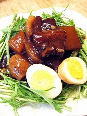 黒酢でさっぱり中華風角煮