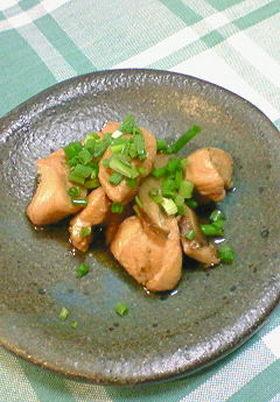 鶏肉と干ししいたけのさっぱり煮