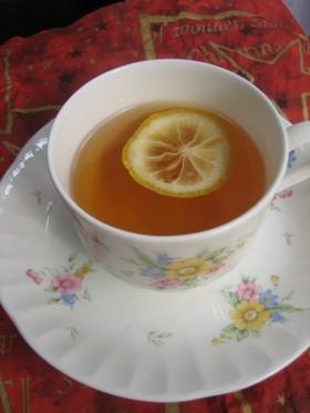 レモンじゃなくて柚子ティー