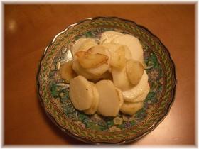 里芋のガーリックソテー