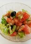 体喜ぶ♡キャベツとお豆のマヨサラダ