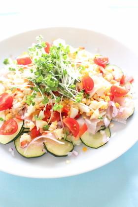 ズッキーニのデリ風サラダ