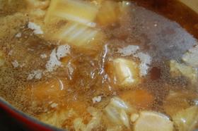 暖まるよ☆白菜と鶏肉のさっぱりスープ煮