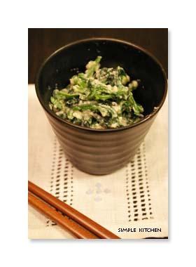 和食の定番☆ほうれん草の白和え