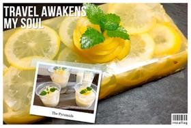 簡単!レモンとヨーグルトの寒天ゼリー2種