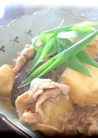 *里芋と豚肉のこっくり味噌煮*