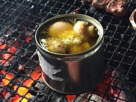 BBQ☆マッシュルームのアヒージョ