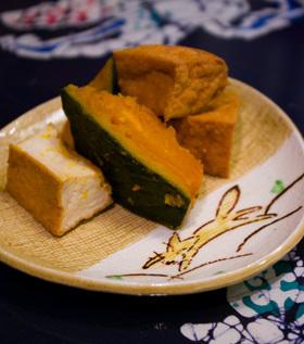 かぼちゃ&厚揚げの黒酢風味♪煮物☆