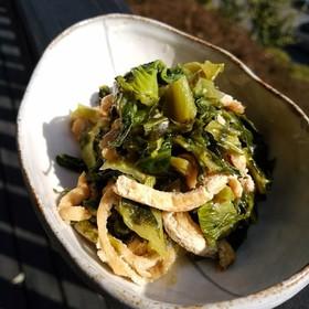 高菜の炒め煮♪