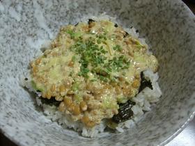 納豆マヨ丼
