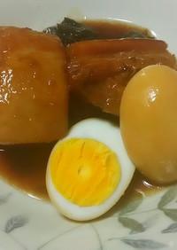 豚の角煮!【簡単】