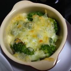 ブロッコリーオーブン焼き