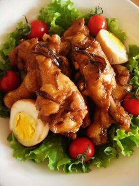 鶏肉と塩こんぶのさっぱり煮♪