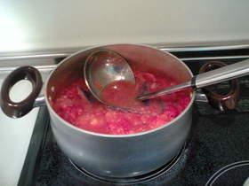 秋野菜のピリ辛トマト煮