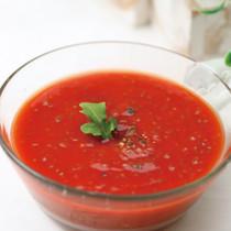 チア・トマトスープ
