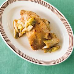 鶏モモ肉の中華風マリネ