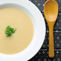 かぶと豆のマカスープ