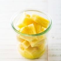 パイナップルのマリネ
