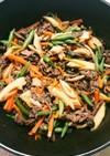 牛肉とぜんまいと筍の炒め煮☆作りおきにも