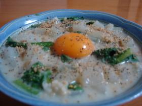 玄米で簡単豆乳リゾット