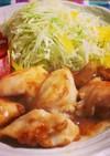 鶏胸肉の梅肉ソース