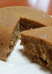 簡単!HM&炊飯器☆きな粉蒸しパンケーキ