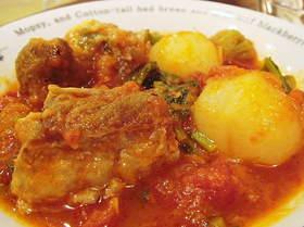 豚スペアリブとかぶのトマト煮