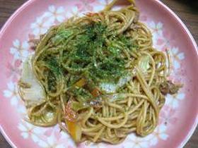 簡単!焼きスパゲティ