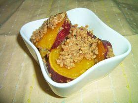 サツマイモのさっぱりそぼろ煮