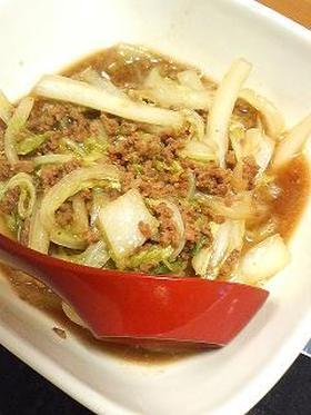 ご飯がススム!! 白菜の中華風そぼろ煮