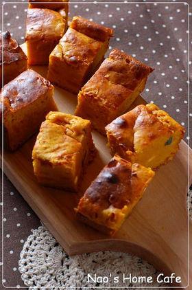簡単❤南瓜のチーズケーキ