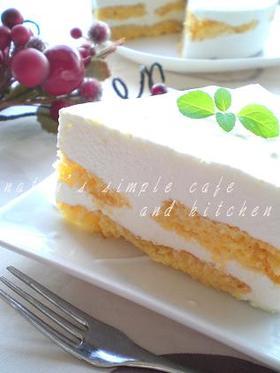 レアチーズケーキ風レアヨーグルトケーキ
