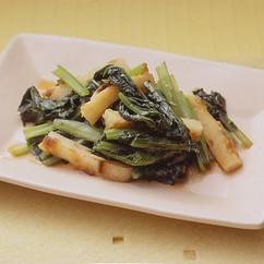 小松菜とちくわの炒めもの